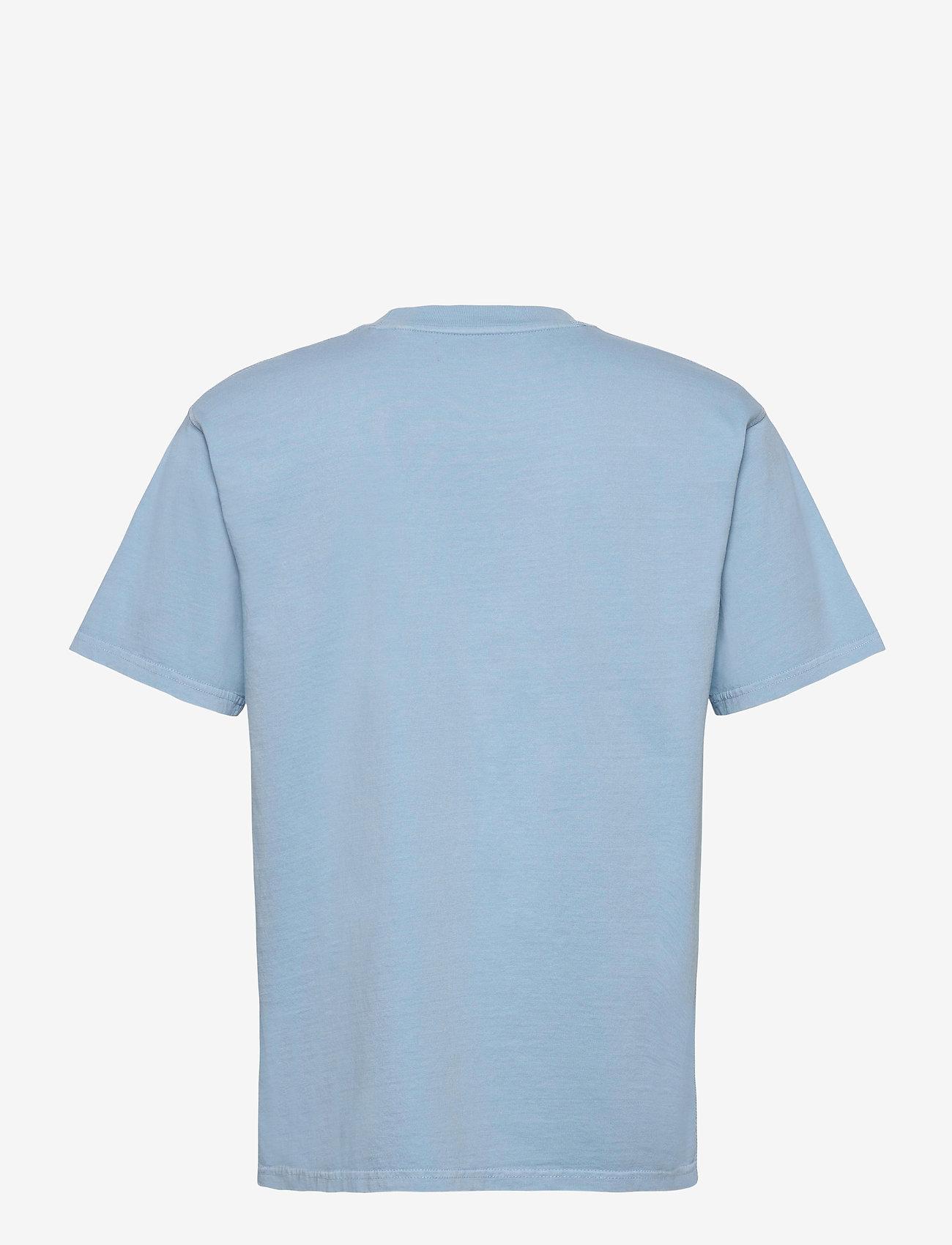 Jack & Jones - JPRBLUJULIO TEE SS CREW NECK - basic t-shirts - dusk blue - 1
