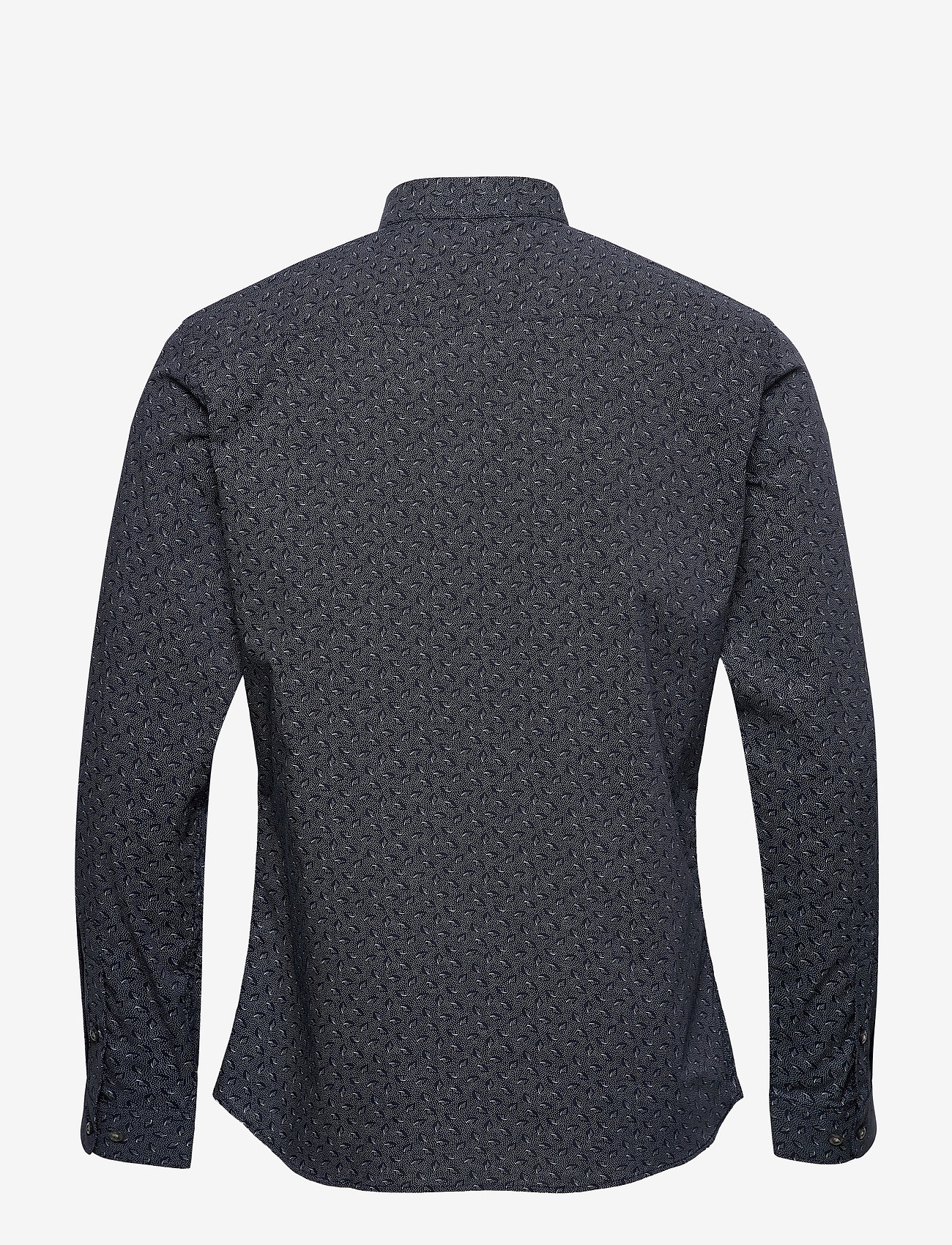 Jack & Jones - JPRBLAOCCASION MINIMAL SHIRT L/S LTN - casual skjortor - navy blazer - 1