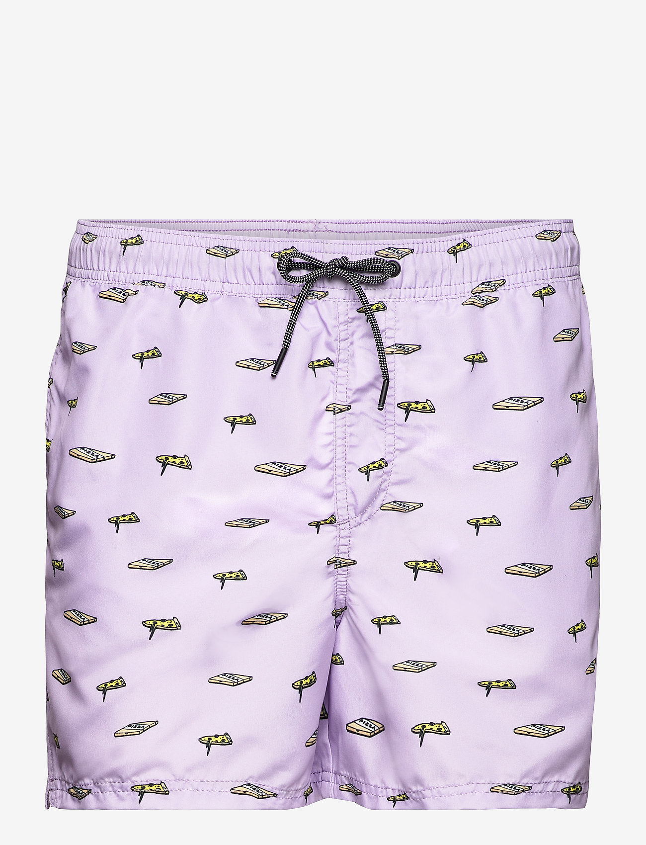 Jack & Jones - JJIBALI JJSWIMSHORTS AKM FUNNY FOOD - shorts de bain - lavender - 0