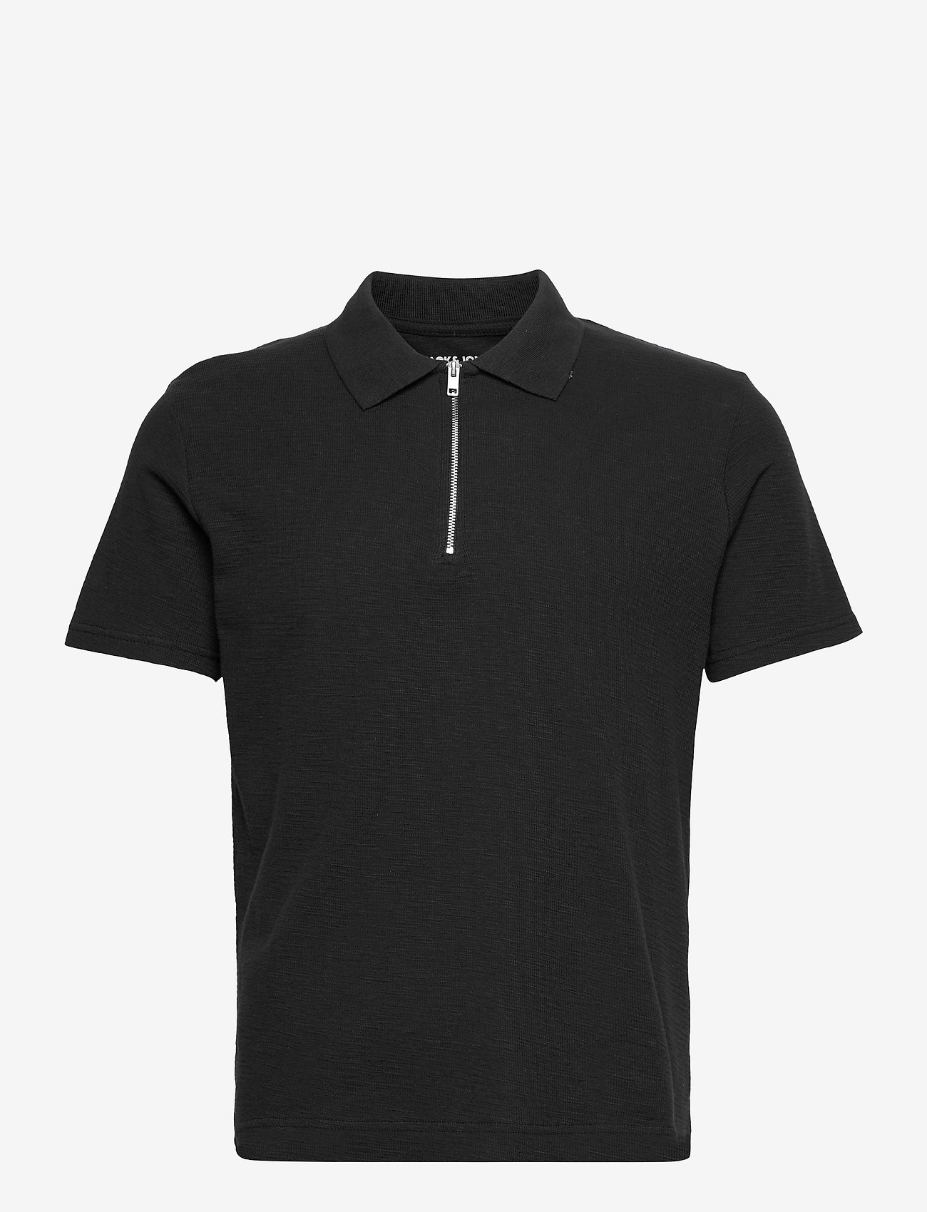 Jack & Jones - JORERIC POLO SS BLK - short-sleeved polos - tap shoe - 0