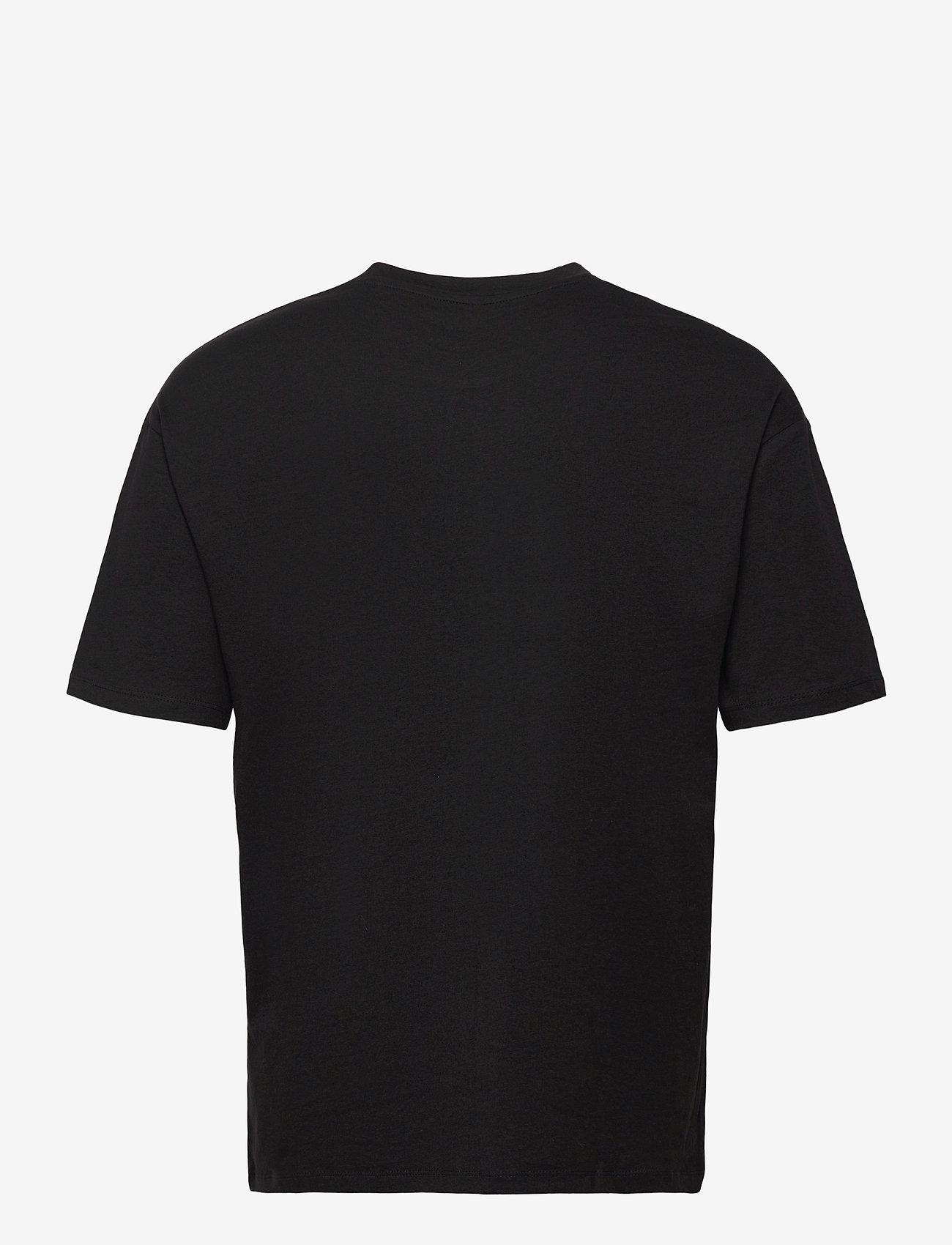 Jack & Jones - JORBRINK TEE SS CREW NECK - basic t-shirts - black - 1