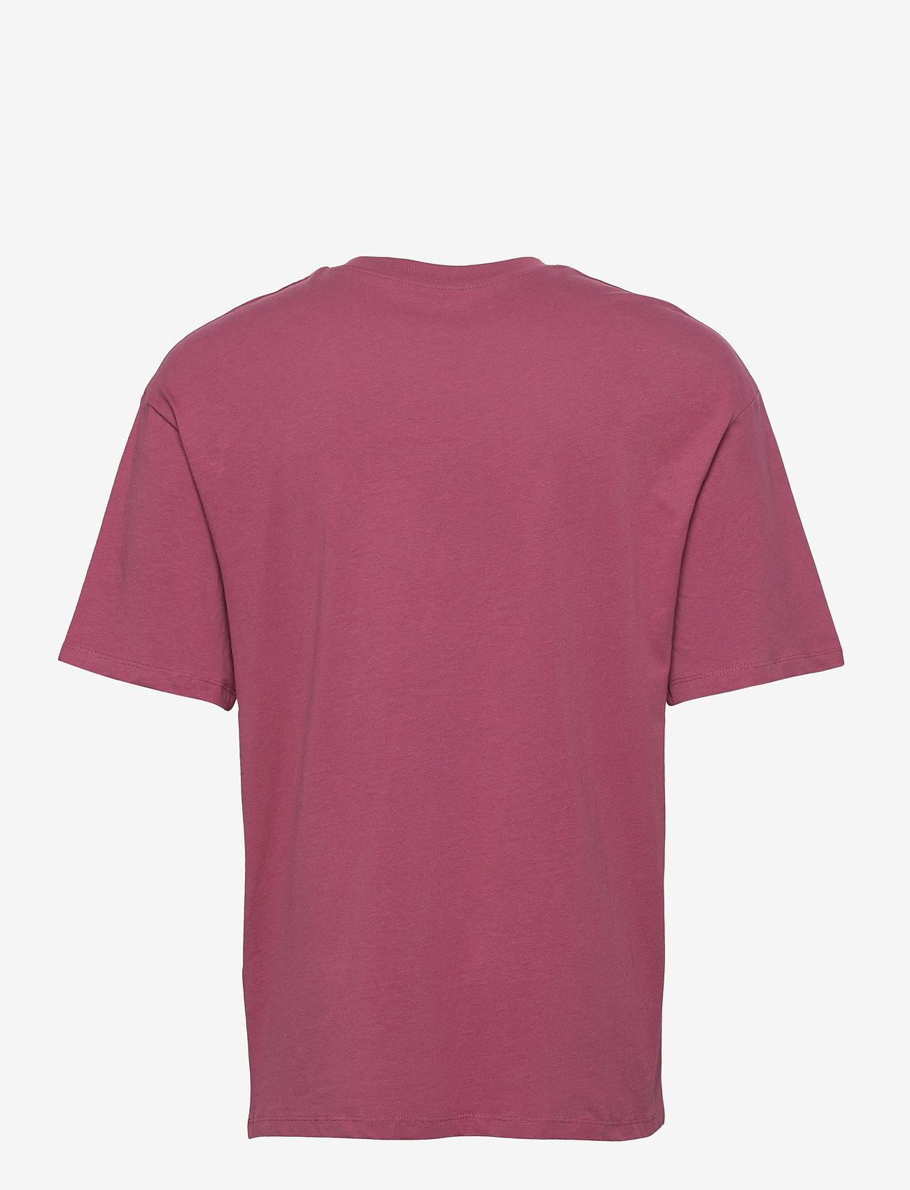 Jack & Jones - JORBRINK TEE SS CREW NECK - basic t-shirts - hawthorn rose - 1