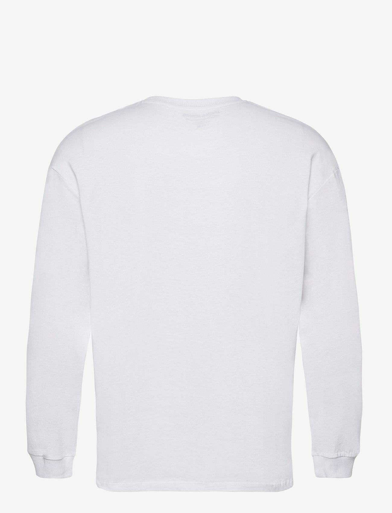Jack & Jones - JORBRINK TEE LS CREW NECK - basic t-shirts - white - 1