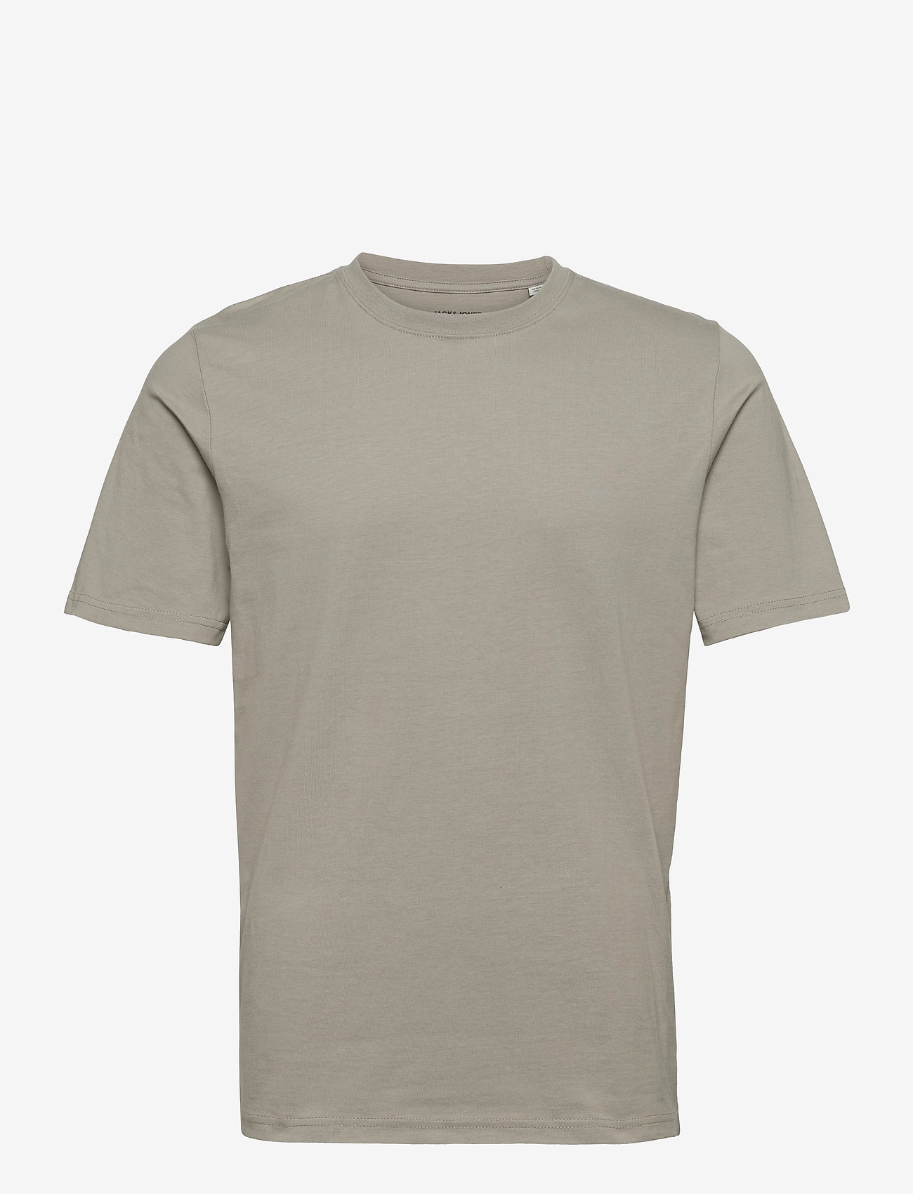 Jack & Jones - JPRBLAWAYN TEE SS CREW NECK - basic t-shirts - elephant skin - 0