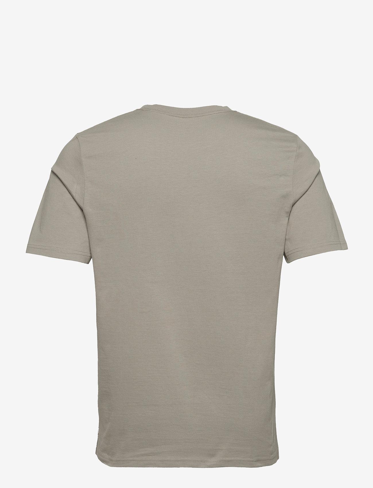 Jack & Jones - JPRBLAWAYN TEE SS CREW NECK - basic t-shirts - elephant skin - 1