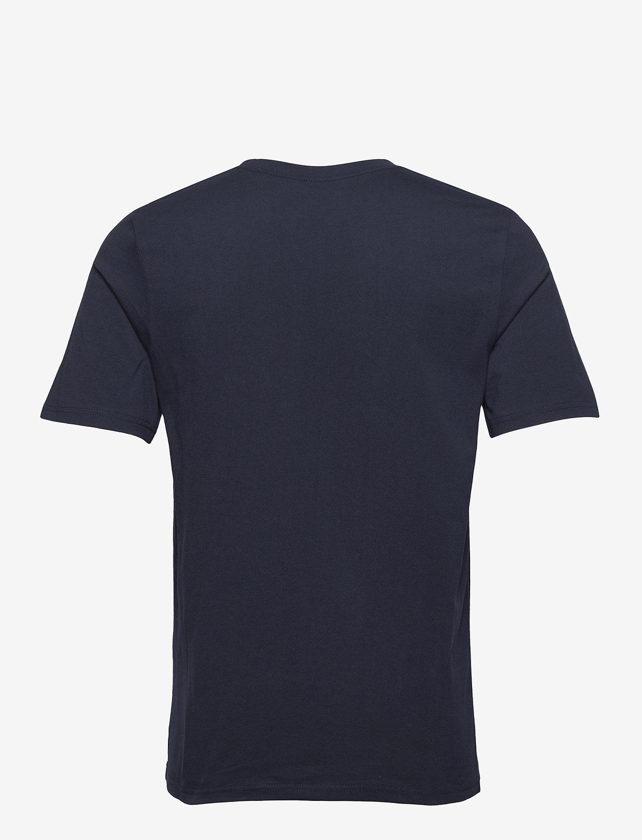 Jack & Jones - JPRBLAWAYN TEE SS CREW NECK - basic t-shirts - navy blazer - 1