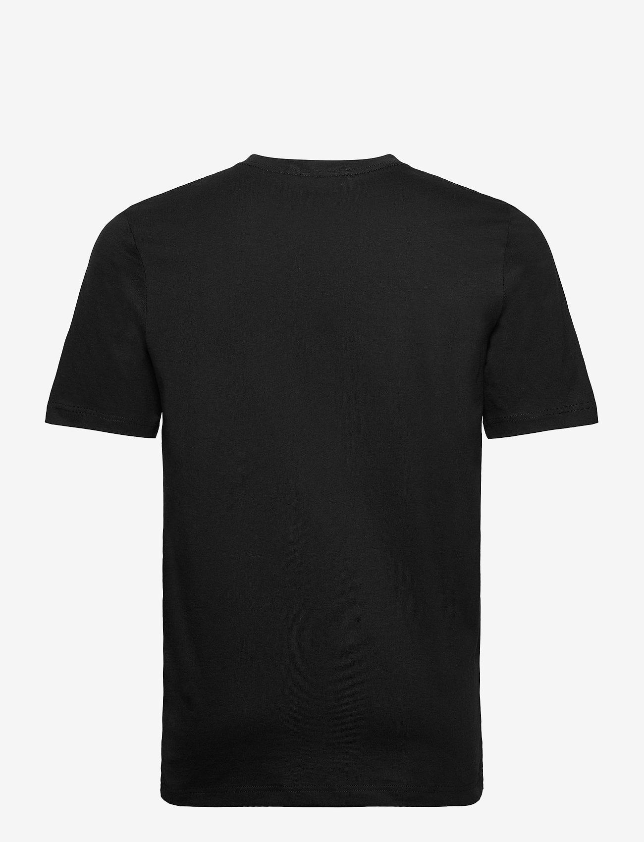 Jack & Jones - JPRBLASTUDIO SS TEE SOLID LTN - kortärmade t-shirts - black - 1