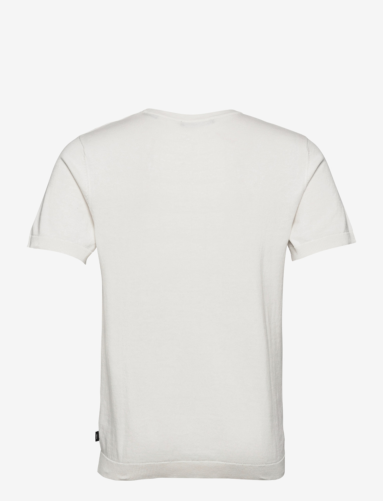 Jack & Jones - JPRBLAIGOR KNIT SS - basic t-shirts - egret - 1