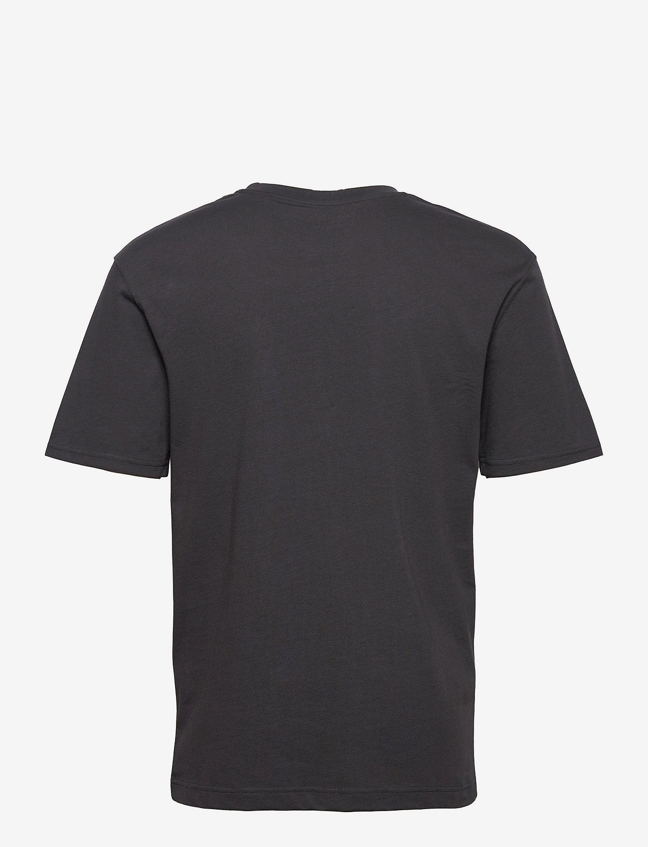 Jack & Jones - JJERELAXED TEE SS O-NECK - basic t-shirts - asphalt - 1