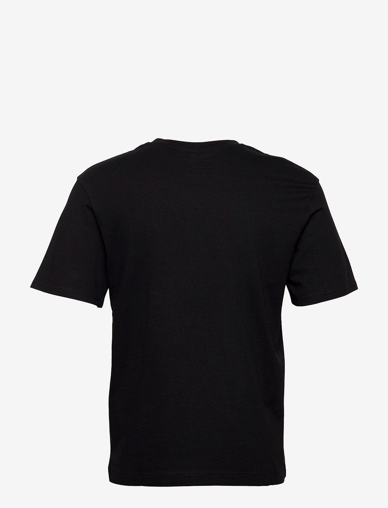 Jack & Jones - JJERELAXED TEE SS O-NECK - basic t-shirts - black - 1