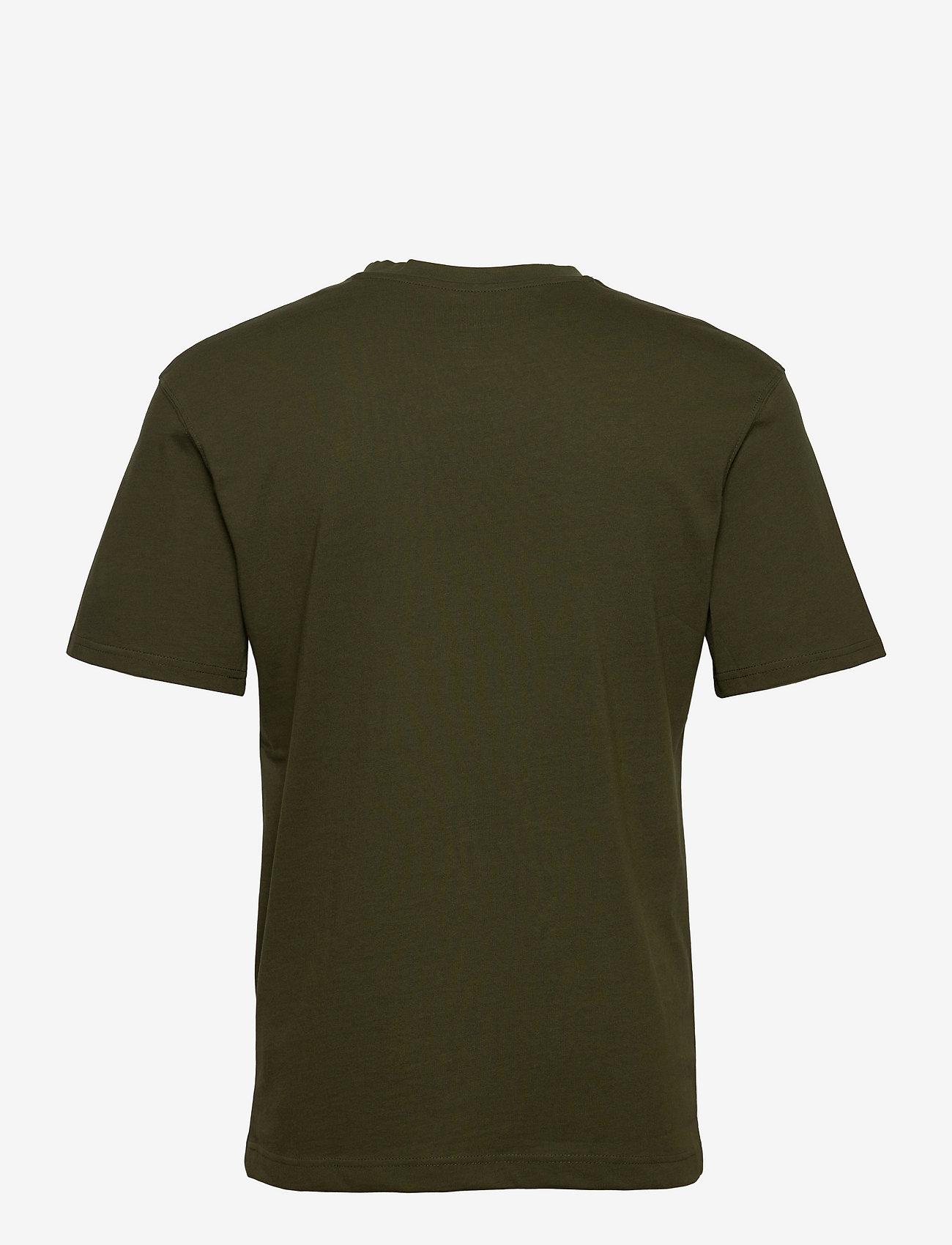 Jack & Jones - JJERELAXED TEE SS O-NECK - basic t-shirts - forest night - 1