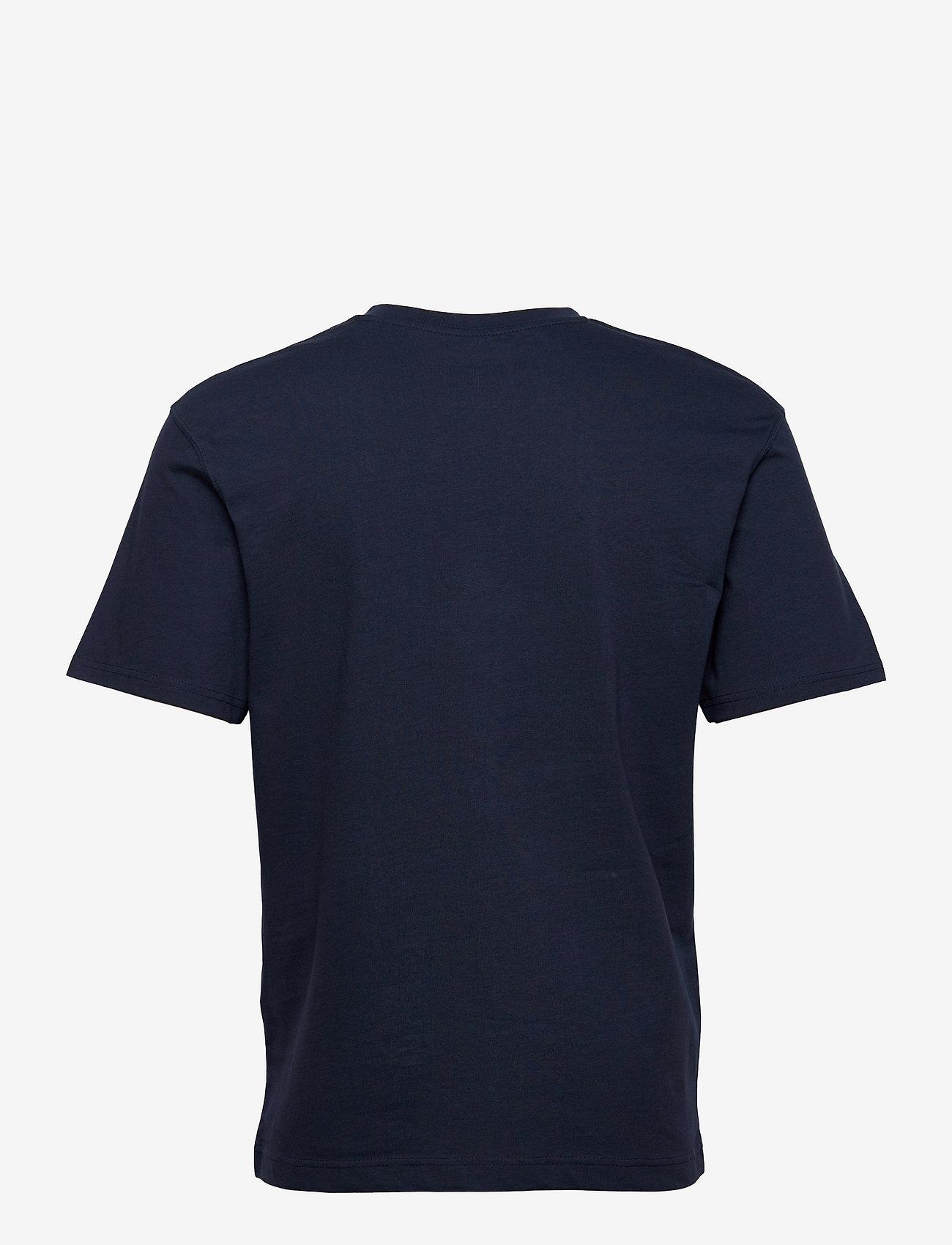 Jack & Jones - JJERELAXED TEE SS O-NECK - basic t-shirts - navy blazer - 1