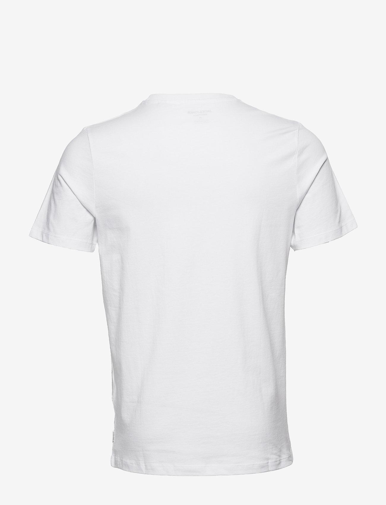 Jack & Jones - JJEORGANIC BASIC TEE SS O-NECK 3PK MP - basic t-shirts - black - 1