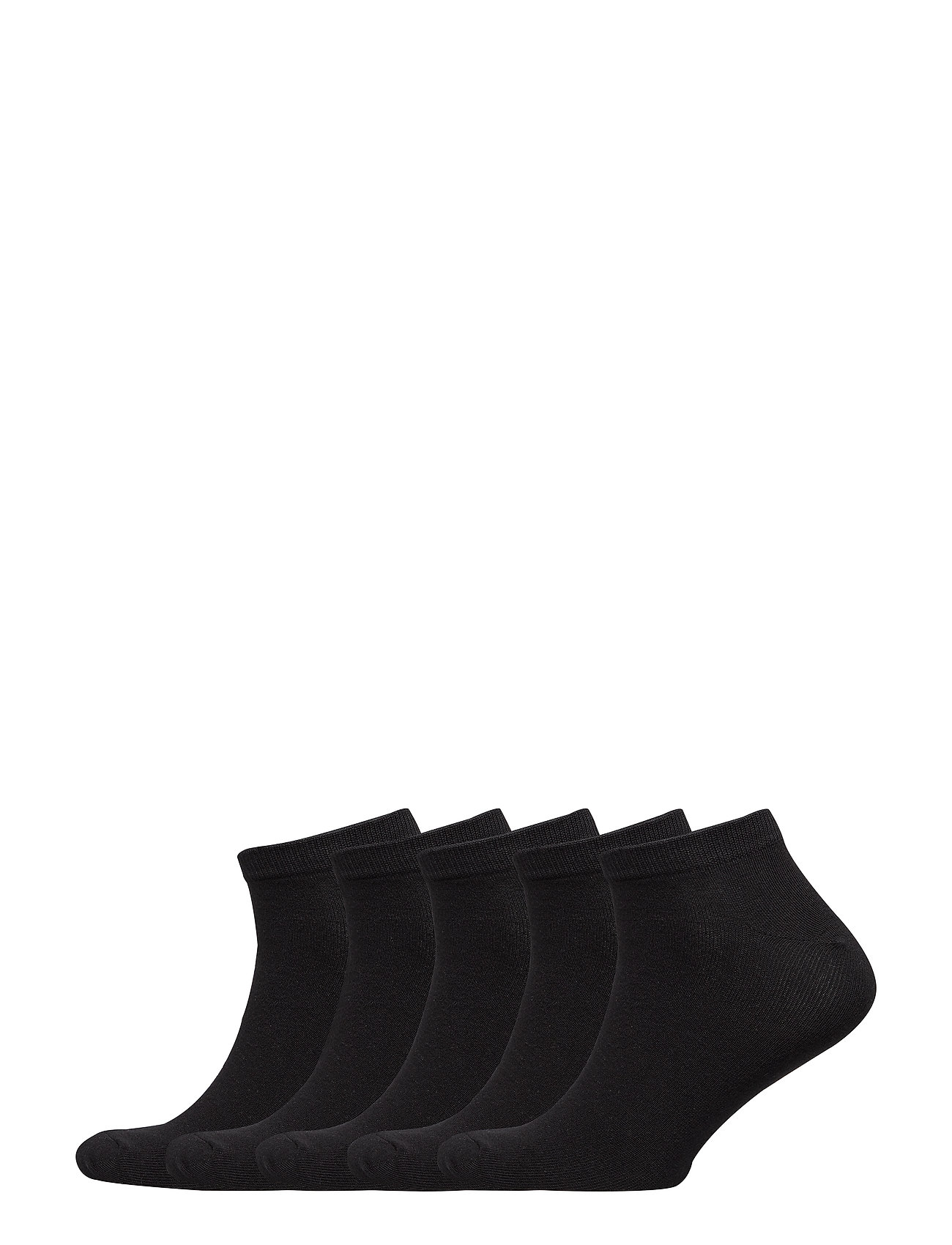 Image of Jacdongo Socks 5 Pack Noos Ankelstrømper Korte Strømper Sort Jack & J S (3413103097)