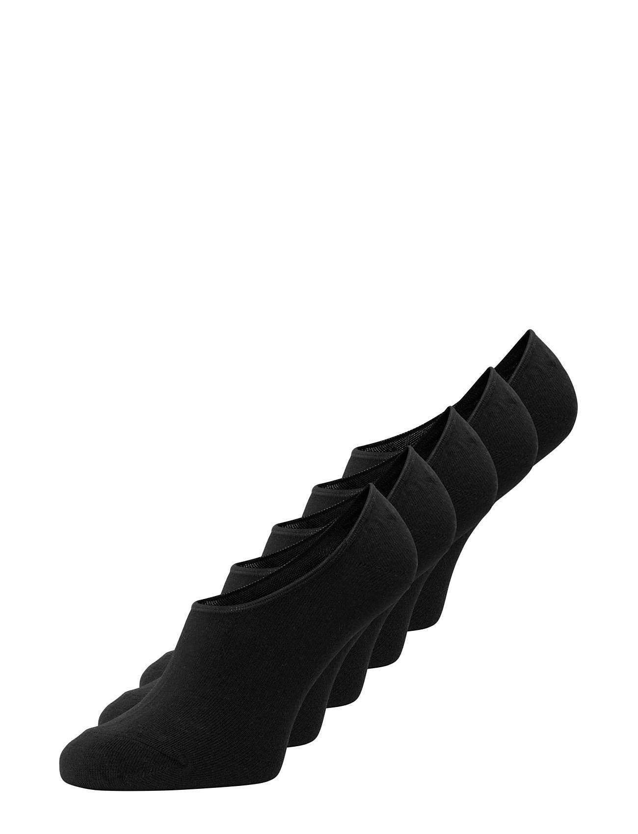 Image of Jacbasic Multi Short Sock 5 Pack Noos Ankelstrømper Korte Strømper Sort Jack & J S (3410693717)
