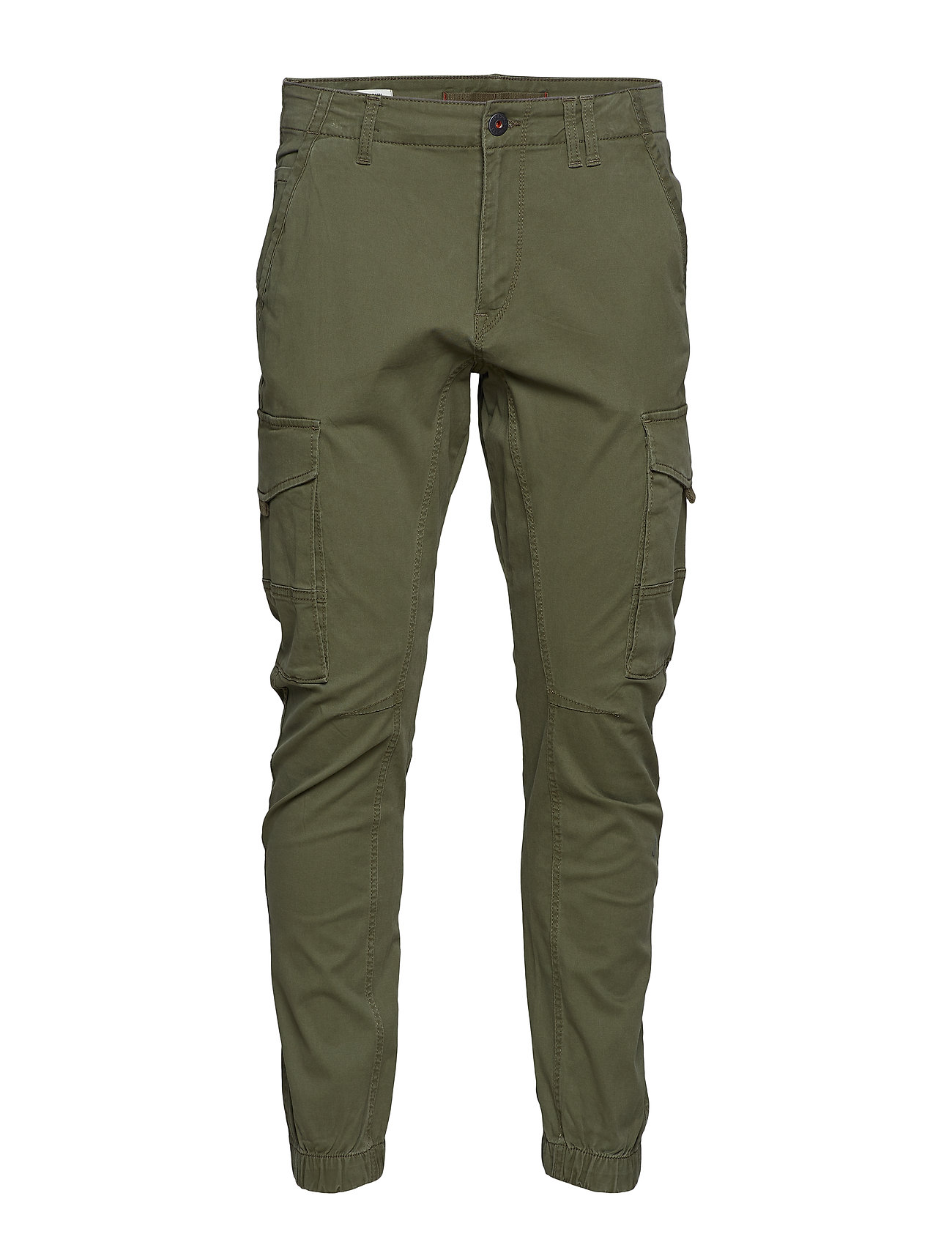 Jack & Jones JJIPAUL JJFLAKE AKM 542 OLIVE NIGHT NOOS Byxor