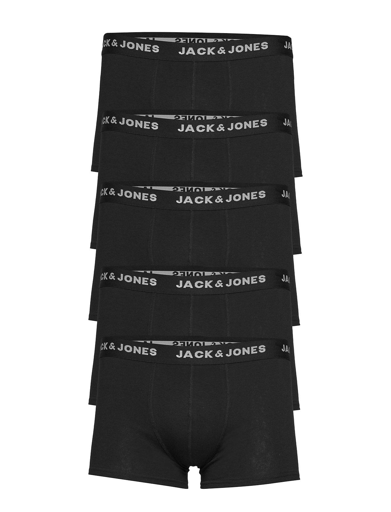 Image of Jachuey Trunks 5 Pack Noos Boxershorts Sort Jack & J S (3288858217)