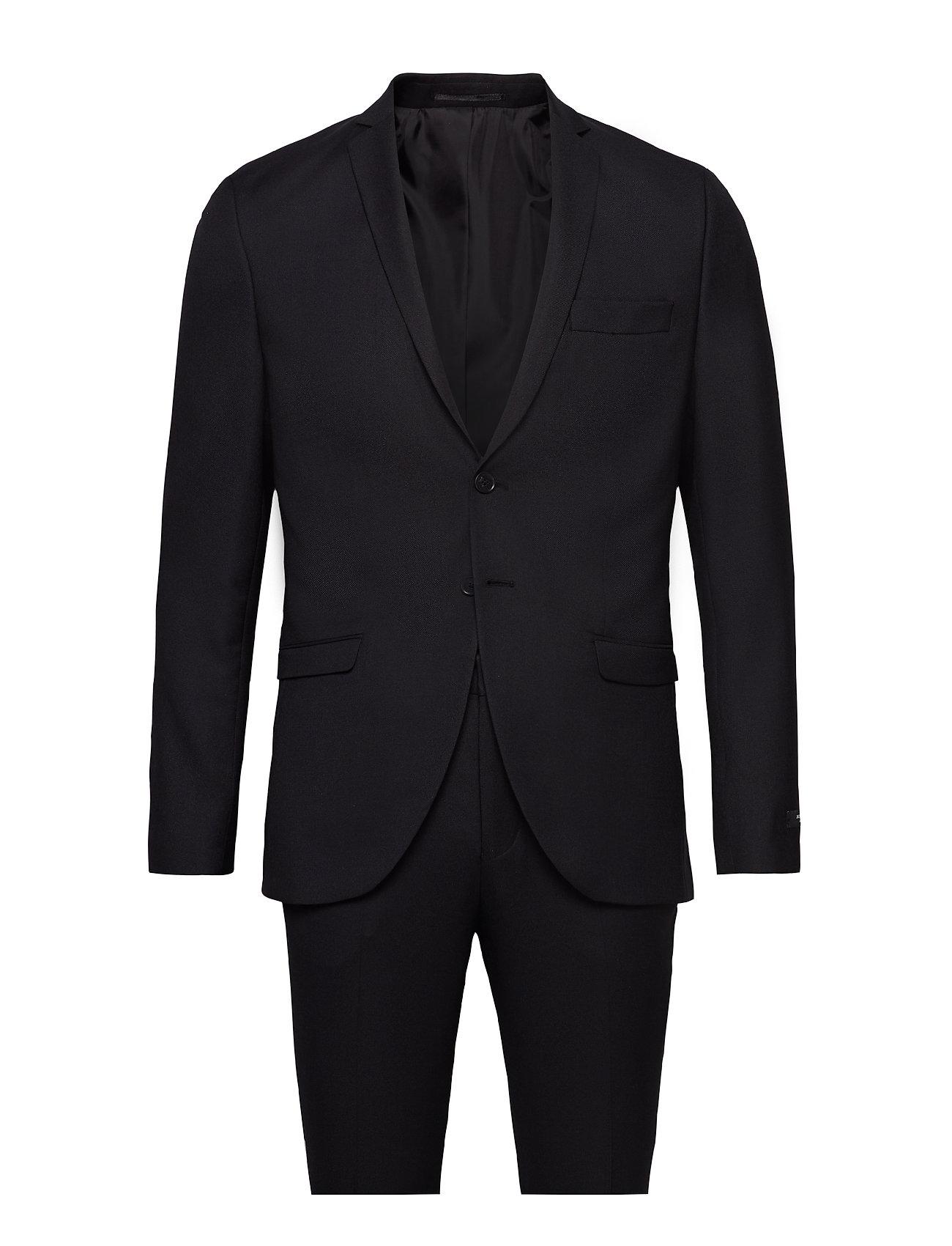 JACK & JONES Jprsolaris Suit Anzug Schwarz JACK & J S