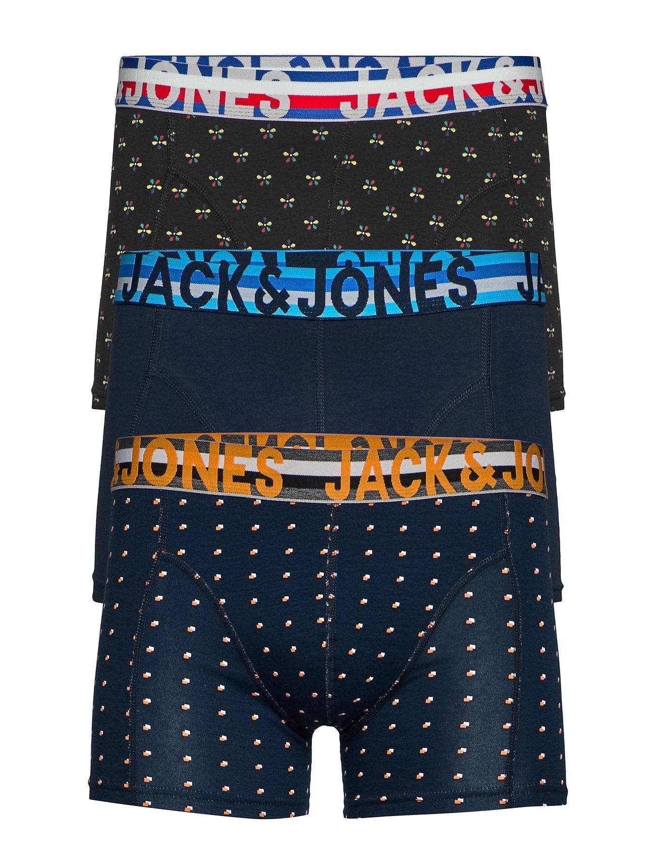 Image of Jachenrik Trunks 3 Pack Noos Boxershorts Multi/mønstret Jack & J S (3286392133)