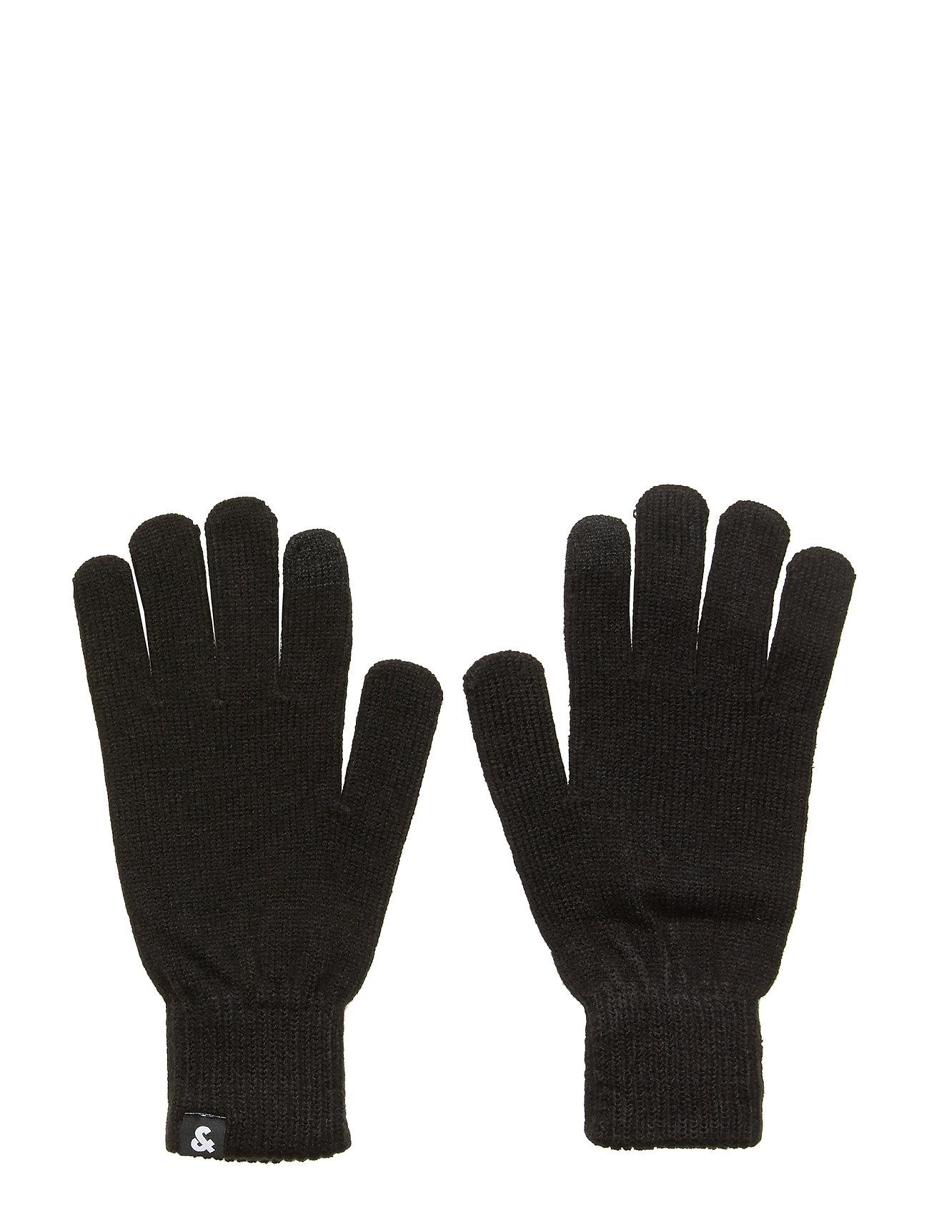 Image of Jacbarry Knitted Gloves Noos Handsker Sort Jack & J S (3237676379)