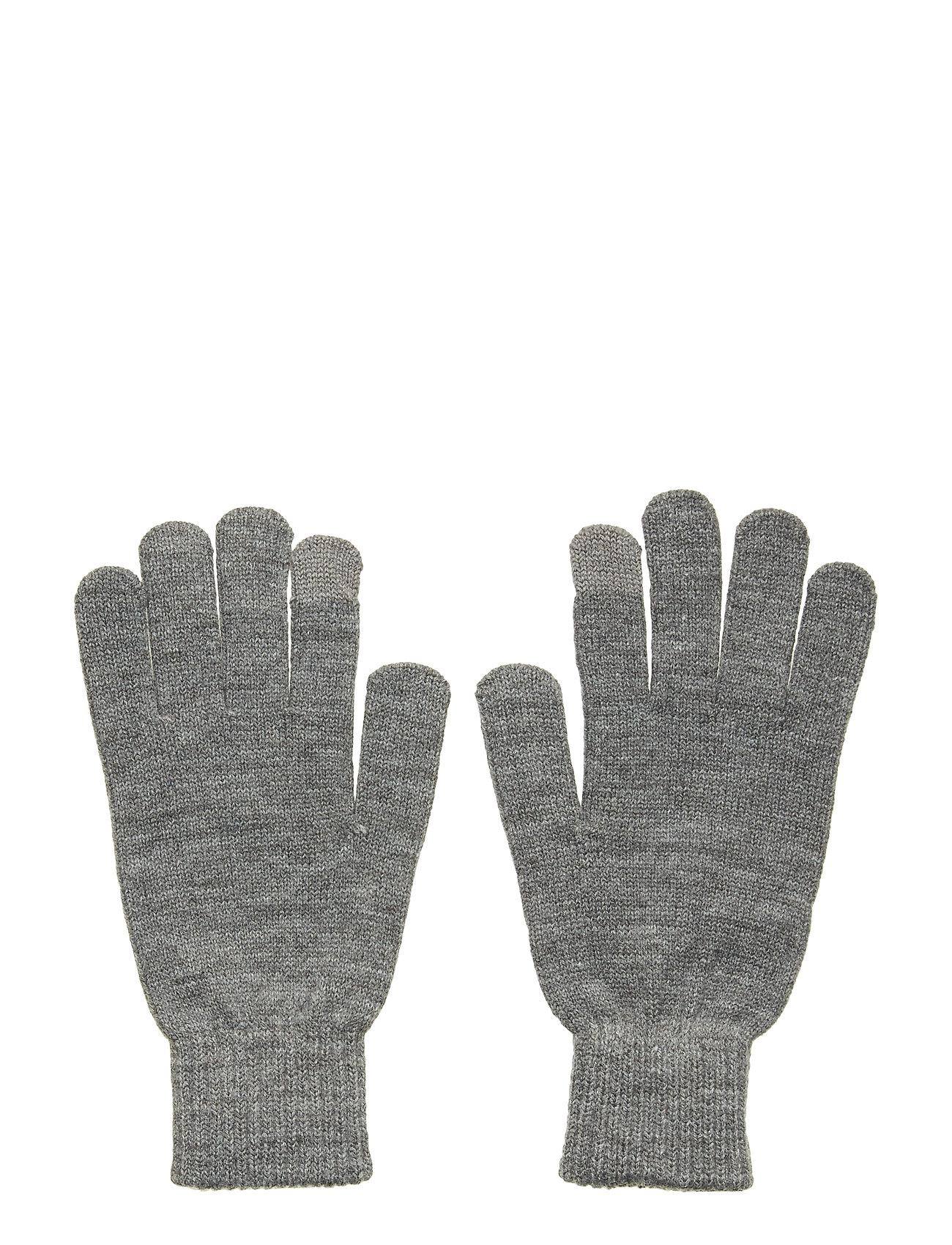 Image of Jacbarry Knitted Gloves Noos Handsker Grå Jack & J S (3237676381)
