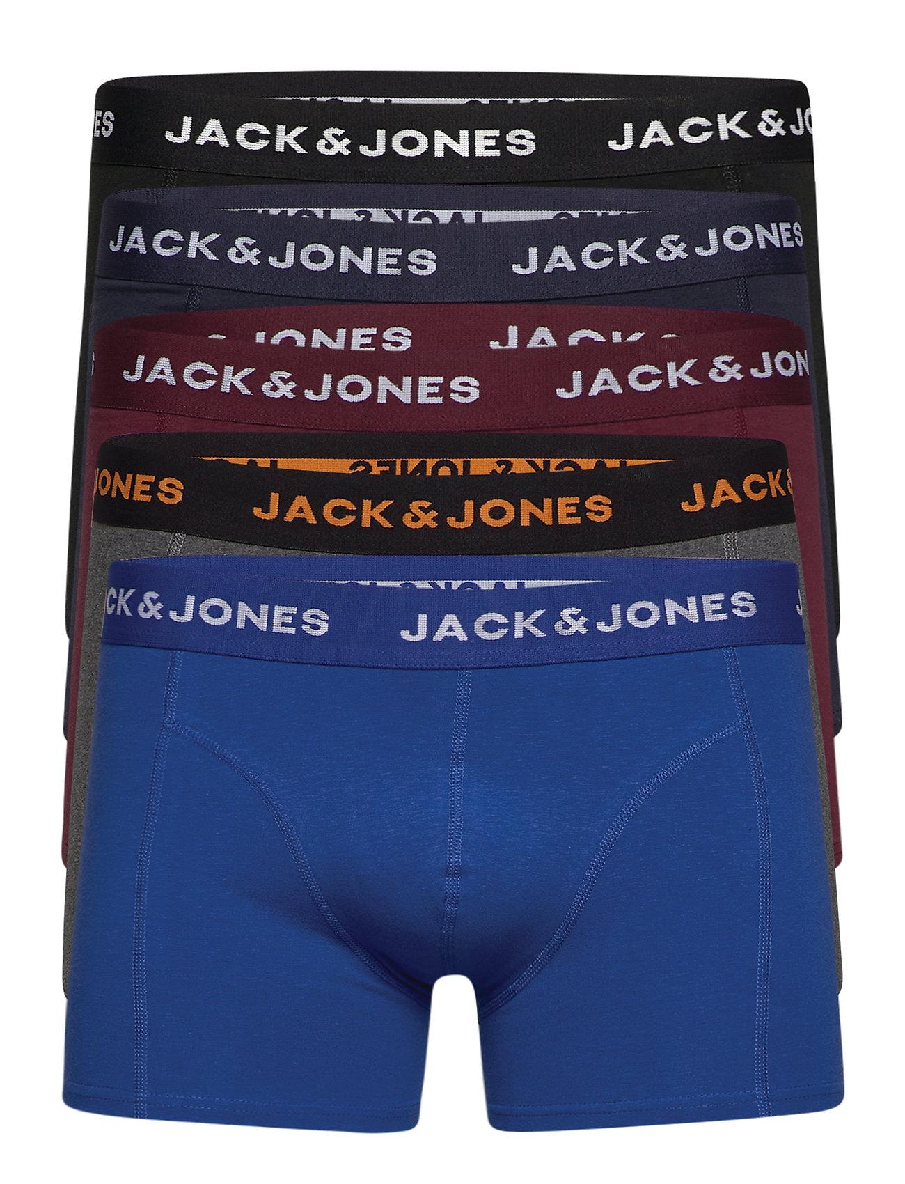 Image of Jacblack Friday Trunks 5 Pack Ltn Boxershorts Multi/mønstret Jack & J S (3462700659)