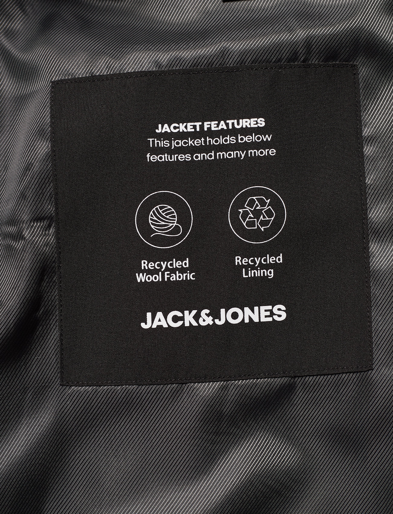 Jack & Jones JJEMOULDER WOOL COAT STS - Jakker og frakker LIGHT GREY MELANGE - Menn Klær