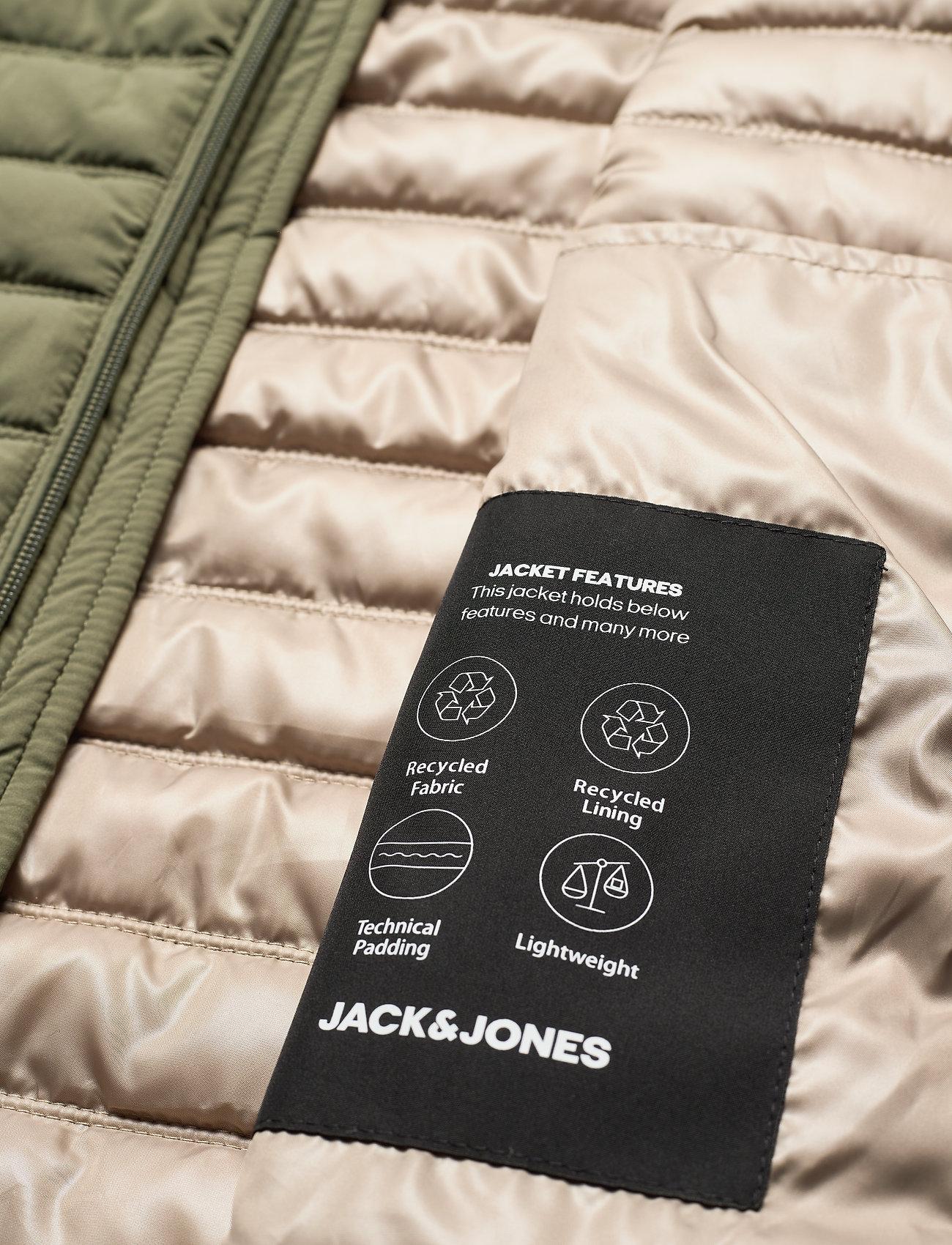 Jack & Jones - JJBASE LIGHT HOOD JACKET - kurtki puchowe - dusty olive - 3