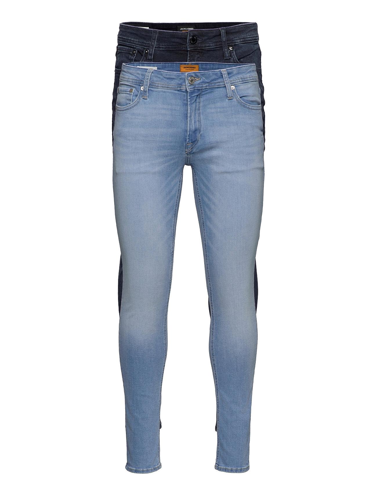 Jjiliam Jjoriginal Agi 002/004 2pk Mp Skinny Jeans Blå Jack & J S