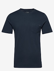 Jack & Jones - JJEPOCKET TEE SS O-NECK NOOS - basic t-shirts - navy blazer - 0