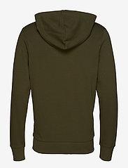 Jack & Jones - JJEHOLMEN SWEAT ZIP HOOD NOOS - basic sweatshirts - olive night - 1