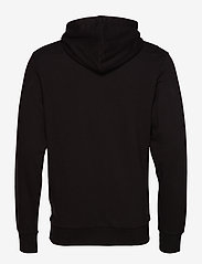 Jack & Jones - JJEHOLMEN SWEAT HOOD NOOS - basic sweatshirts - black - 1