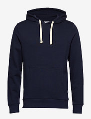 Jack & Jones - JJEHOLMEN SWEAT HOOD NOOS - basic sweatshirts - navy blazer - 0