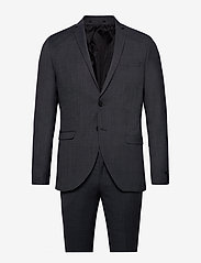 Jack & Jones - JPRSOLARIS SUIT - single breasted suits - dark grey - 0