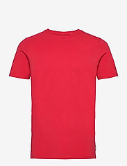 Jack & Jones - JJEORGANIC BASIC TEE SS O-NECK - basic t-shirts - true red - 0