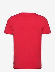 Jack & Jones - JJEORGANIC BASIC TEE SS O-NECK - basic t-shirts - true red - 1