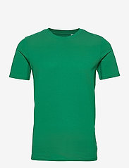 Jack & Jones - JJEORGANIC BASIC TEE SS O-NECK NOOS - basic t-shirts - verdant green - 0