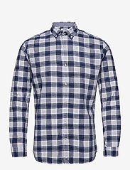Jack & Jones - JJESUMMER MIX SHIRT L/S S20 STS - casual skjortor - white - 0