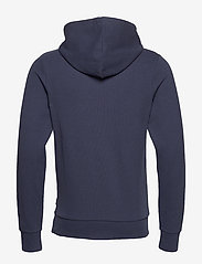 Jack & Jones - JPRBLAHARDY SWEAT HOOD PRE STS - basic sweatshirts - black iris - 1