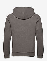Jack & Jones - JPRBLAHARDY SWEAT HOOD PRE STS - basic sweatshirts - grey melange - 1