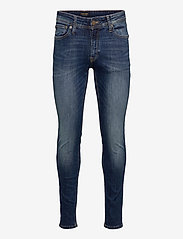 Jack & Jones - JJILIAM JJORIGINAL AGI 005 NOOS - slim jeans - blue denim - 0