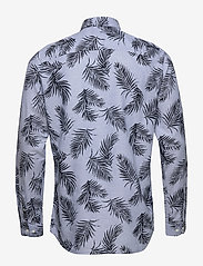 Jack & Jones - JPRBLASUMMER LEAF SHIRT L/S S20 - casual skjortor - cashmere blue - 1