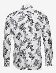 Jack & Jones - JPRBLASUMMER LEAF SHIRT L/S S20 - casual skjortor - white - 1