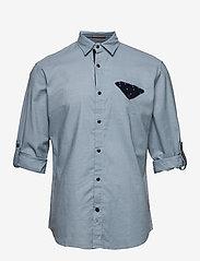 Jack & Jones - JORCHANDLER SHIRT LS - basic skjortor - ashley blue - 2