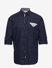 Jack & Jones - JORCHANDLER SHIRT LS - basic skjortor - navy blazer - 2