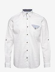 Jack & Jones - JORCHANDLER SHIRT LS - basic skjortor - white - 0