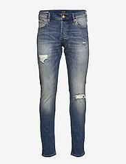 Jack & Jones - JJIGLENN JJORIGINAL GE 050 50SPS NOOS - slim jeans - blue denim - 0