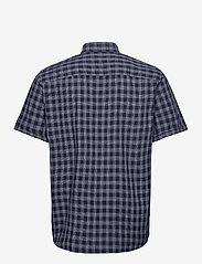Jack & Jones - JORDENNIS SHIRT SS - rutiga skjortor - navy blazer - 1