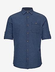 Jack & Jones - JPRBLUEASTON SHIRT L/S ONE POCKET - casual skjortor - denim blue - 2