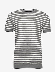 Jack & Jones - JPRBLALOST SS CREW NECK - kortärmade t-shirts - black - 0